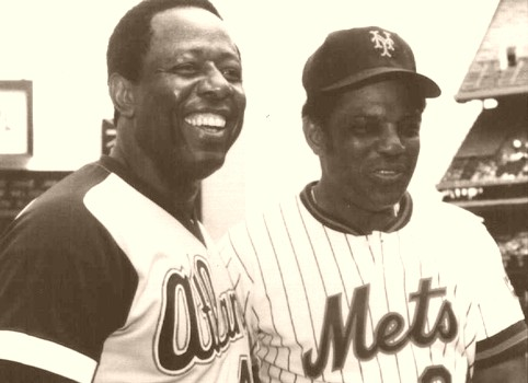 Hank Aaron, Willie Mays Hall of Fame Bound