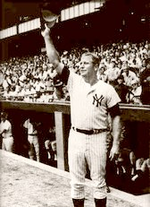Mickey Mantle Standing Ovation 1968