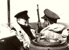 Churchill Damn The Torpedoes Normandy 1944