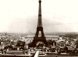Vintage Photographs Of Paris And France Mounted And