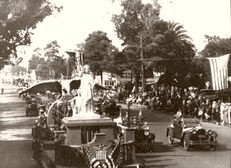 Pasadena. The Rose Bowl Parade 1924