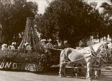 Pasadena. The Rose Bowl Parade 1914